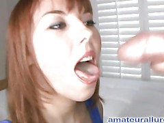 Delilah is a feiry 22 year old red head with a very desirous mouth. This taut little beauty from Florida doesn't fuck around, and that babe has a stunning constricted little gazoo. That Babe takes what this babe wants and gets what that babe needs. Ray ha